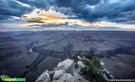 Grand Canyon - Pima Point - Foto Ladislav Hanousek 0818