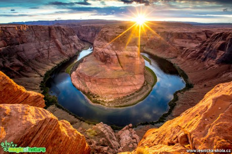 Colorado u Horseshoe Bend v Arizoně - Foto Ladislav Hanousek 0619